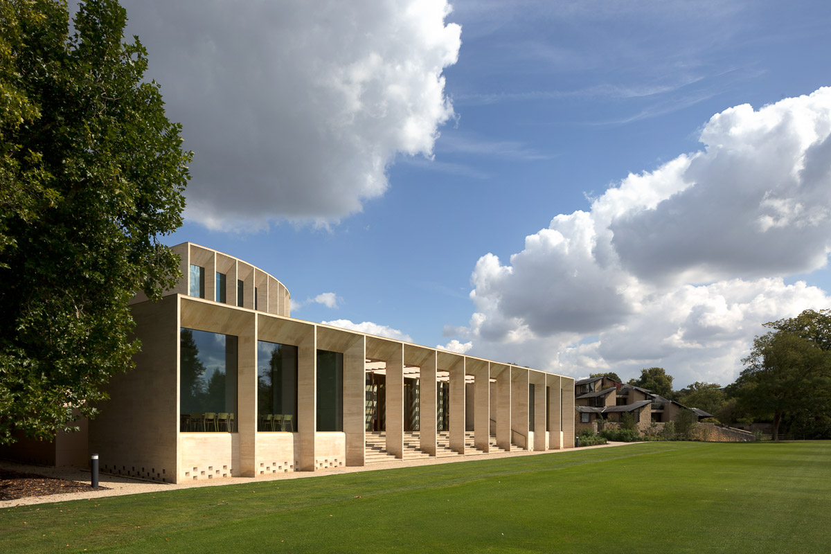 Sultan Nazrin Shah Centre, Worcester College, Oxford - Niall McLaughlin architects